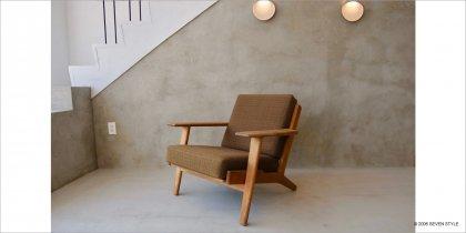 【リペア前】GETAMA / GE290 Easy Chair