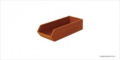 【廃番セール品】【通販在庫有り】サイトーウッド Cutlery Case (teak grain)