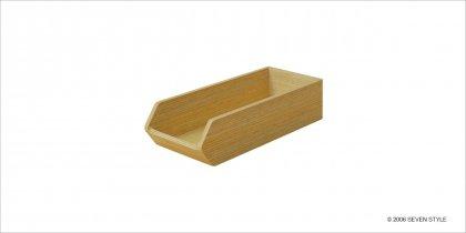 【廃番セール品】サイトーウッド Cutlery Case (white oak grain)