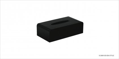 サイトーウッド Tissuebox Cover (black)