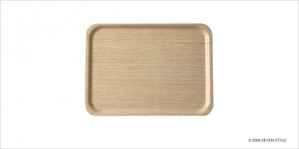 【通販在庫有り】サイトーウッド Tray 1004H (white oak grain)
