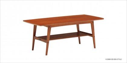 【送料無料】カリモク60 リビングテーブル(大)ヴィンテージチーク色