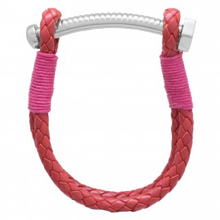 <img class='new_mark_img1' src='//img.shop-pro.jp/img/new/icons55.gif' style='border:none;display:inline;margin:0px;padding:0px;width:auto;' />【LADIES'】 NUT&BOLT BRACELET(RED)