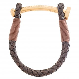 【LADIES'】NUT&BOLT BRACELET (BROWN)