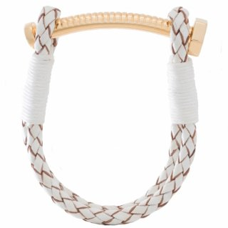<img class='new_mark_img1' src='//img.shop-pro.jp/img/new/icons55.gif' style='border:none;display:inline;margin:0px;padding:0px;width:auto;' />【LADIES'】 NUT&BOLT BRACELET (WHITE)