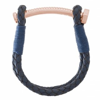 【LADIES'】 NUT&BOLT BRACELET (NAVY)