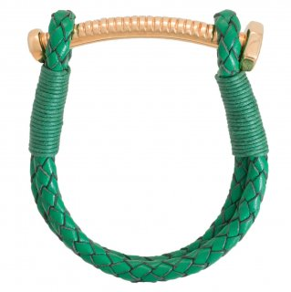 【LADIES'】NUT&BOLT BRACELET(GREEN)