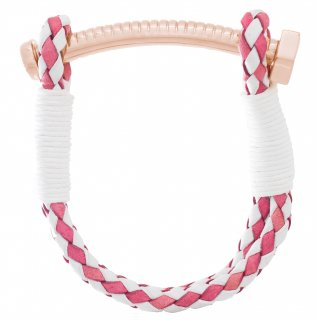 <img class='new_mark_img1' src='//img.shop-pro.jp/img/new/icons55.gif' style='border:none;display:inline;margin:0px;padding:0px;width:auto;' />【LADIES'】NUT&BOLT BRACELET(PINK&WHITE)
