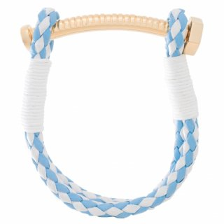 《CARRIE K. JAPAN OPEN記念限定カラー》【LADIES'】NUT&BOLT BRACELET (LIGHT BLUE&WHITE)