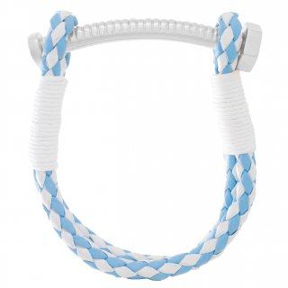 《CARRIE K. JAPAN OPEN記念限定カラー》 【MEN'S】 NUT&BOLT BRACELET (LIGHT BLUE&WHITE)