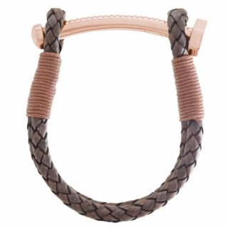 <img class='new_mark_img1' src='https://img.shop-pro.jp/img/new/icons55.gif' style='border:none;display:inline;margin:0px;padding:0px;width:auto;' />【MEN'S】 NUT&BOLT BRACELET (BROWN)