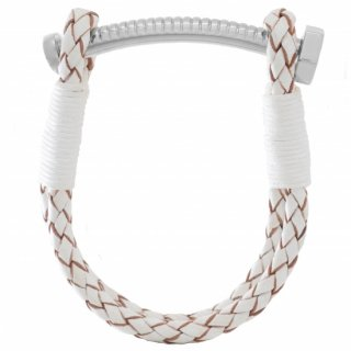 <img class='new_mark_img1' src='//img.shop-pro.jp/img/new/icons55.gif' style='border:none;display:inline;margin:0px;padding:0px;width:auto;' />【MEN'S】NUT&BOLT BRACELET (WHITE)
