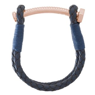《数量限定受注販売》 【LADIES'】 NUT&BOLT BRACELET (NAVY)