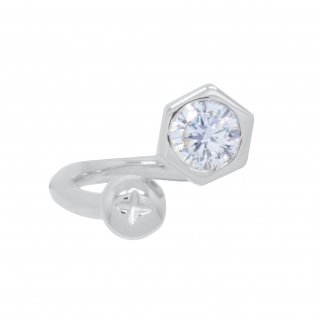 <img class='new_mark_img1' src='https://img.shop-pro.jp/img/new/icons55.gif' style='border:none;display:inline;margin:0px;padding:0px;width:auto;' />NUT&BOLT TWISTED RING(SILVER)