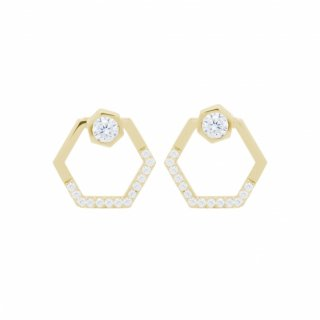 <img class='new_mark_img1' src='//img.shop-pro.jp/img/new/icons1.gif' style='border:none;display:inline;margin:0px;padding:0px;width:auto;' />NUT&BOLT BLING PIERCED(YELLOW GOLD)