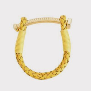 <img class='new_mark_img1' src='//img.shop-pro.jp/img/new/icons1.gif' style='border:none;display:inline;margin:0px;padding:0px;width:auto;' />【LADIES'】 NUT&BOLT BRACELET (YELLOW)