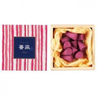 日本香堂のお香 かゆらぎ 薔薇 コーン