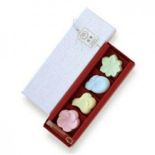 日本香堂のお香 香菓 アソート4種入 オイル付