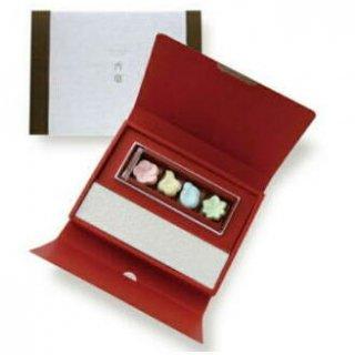日本香堂のお香 香菓 ギフトアソート4種入 オイル・皿付