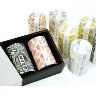 カメヤマのお線香ギフト 和遊2種(10分蝋燭) 化粧紙箱