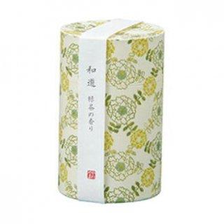 カメヤマのお線香 和遊 緑茶の香り ミニ寸