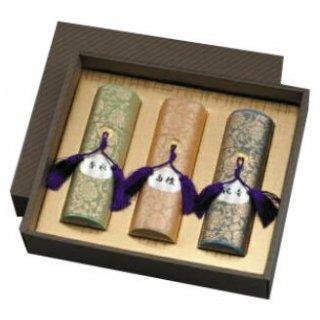 【送料無料】 貴田沈清堂のお線香ギフト 美麗香 筒3本入 化粧紙箱