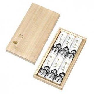 玉初堂のお線香ギフト 香樹林 短寸6箱入 桐箱