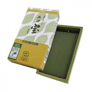 薫寿堂のお線香 エコ宝 檜の香り 短寸バラ詰