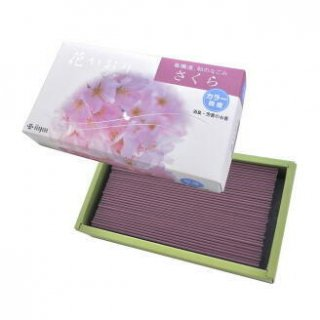 薫寿堂のお線香 花かおり桜  短寸バラ詰