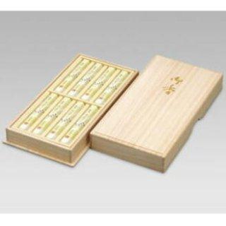 【送料無料】 精華堂のお線香ギフト 銘香五筆 短寸8箱入 桐箱