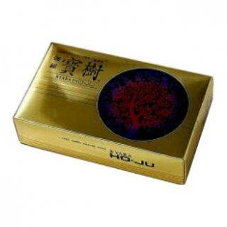 誠寿堂のお線香 微煙香 伽羅寶樹 短寸大バラ