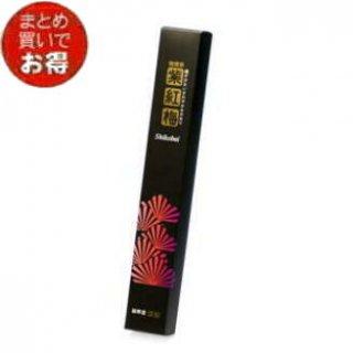 誠寿堂のお線香 微煙香 黒 紫紅梅 長寸一把