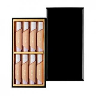 日本香堂のお線香ギフト 伽羅大観 短寸8把入 塗箱