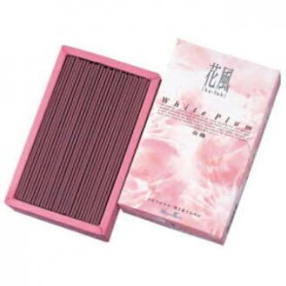 日本香堂のお線香 花風 白梅 短寸バラ詰
