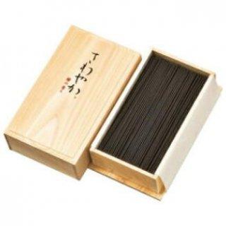 梅栄堂のお線香 さわやか檜の香り 短寸バラ詰