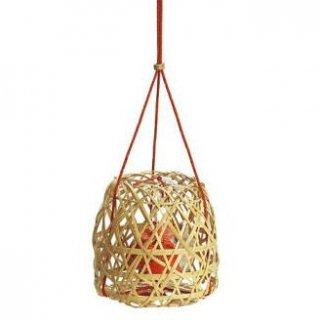 松栄堂の掛け香 かおり籠 丸形