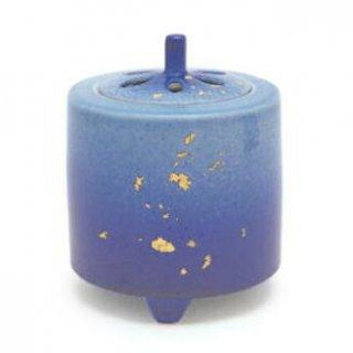 日本香堂の空薫向き香炉 3号釉彩 金箔香炉
