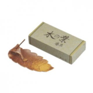 玉初堂の香立付き香皿 木の葉 小
