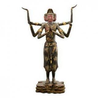 彫塑家喜多敏勝作 国宝阿修羅像