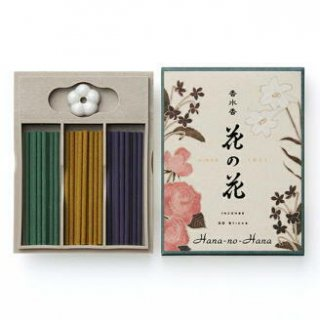 日本香堂のお香 香水香花の花 3種入 S30本入