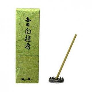 日本香堂のお香 毎日白檀香 スティック24本入