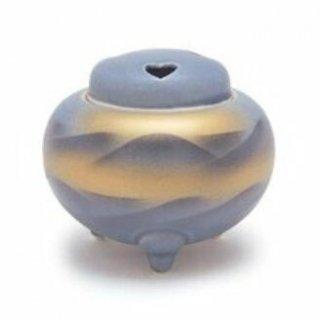 日本香堂の空薫向き香炉 平丸連山 香炉