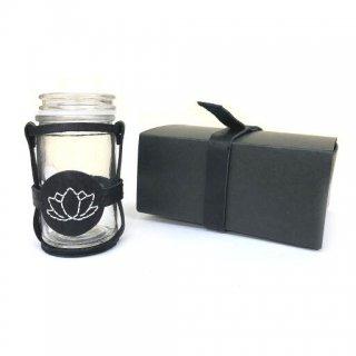 芳月苑 & Leather37の限定コラボ手づくりキット  わたしだけの香りボトル 蓮