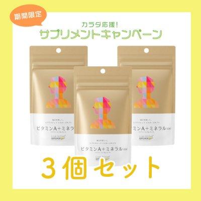 【3個セット】リブアクティブ ドクターズサプリ ビタミンA+ミネラル(60粒)【10%OFF】