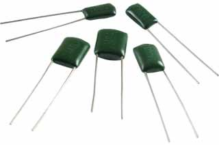 Capacitor - 100V, Polyester Film Inductive