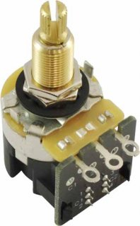 Potentiometer - CTS, 500K, Audio, Knurled Shaft, .75' Bushing, DPDT<img class='new_mark_img2' src='https://img.shop-pro.jp/img/new/icons21.gif' style='border:none;display:inline;margin:0px;padding:0px;width:auto;' />