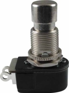 Switch - Carling, Footswitch, SPST, Momentary, Off-On, Solder Lugs