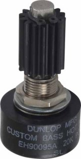 Potentiometer - Dunlop, 20K, Custom Taper, Wah Pot, for Bass<img class='new_mark_img2' src='https://img.shop-pro.jp/img/new/icons21.gif' style='border:none;display:inline;margin:0px;padding:0px;width:auto;' />