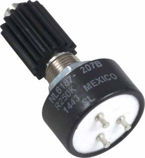 Potentiometer - Dunlop, 250k Audio, for Dunlop GCB80<img class='new_mark_img2' src='https://img.shop-pro.jp/img/new/icons21.gif' style='border:none;display:inline;margin:0px;padding:0px;width:auto;' />