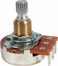 Potentiometer - Bourns, Audio, Knurled Shaft<img class='new_mark_img2' src='https://img.shop-pro.jp/img/new/icons21.gif' style='border:none;display:inline;margin:0px;padding:0px;width:auto;' />